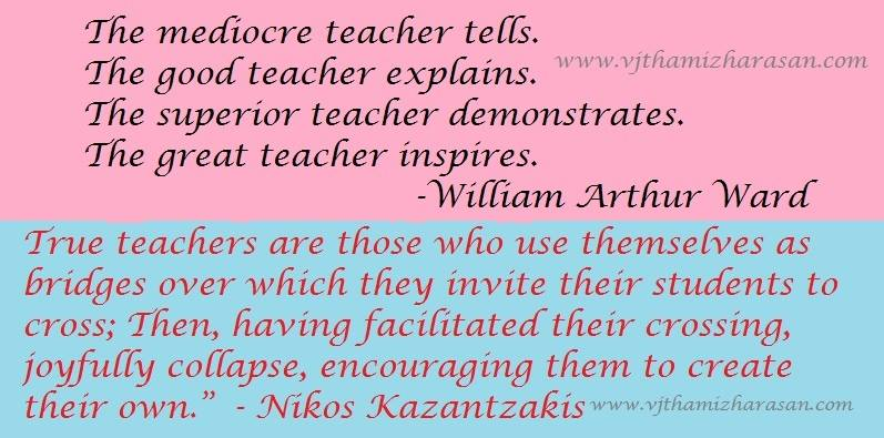 Teachers' day Quotes