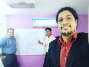 Business Coaching Expert Dr Maharaja SivaSubramanian N with Chennai Emcee Thamizharasan and Wealth Coach Paddy