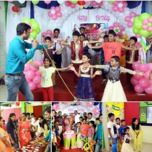 Chennai Event Anchors Thamizharasan and Nandhini hosting Birthday Party at Chennai
