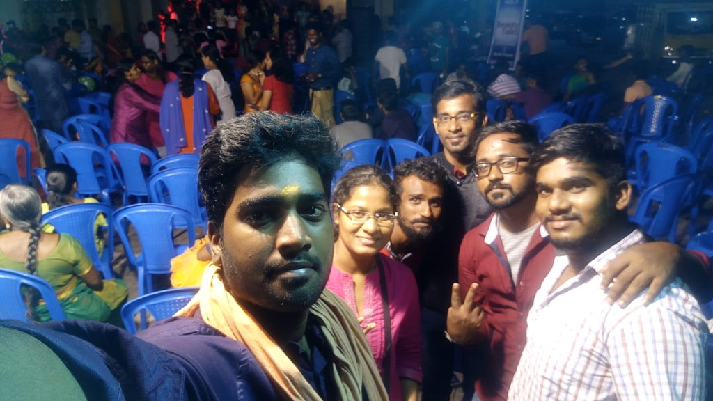 Hosted Christmas Celebrations at Amarprakash The Royal Castle Thirumudivakkam Kundrathur Chennai Event Entertainers Male MC Thamizharasan