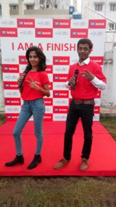 The Wipro Chennai Marathon 2017 Pictures with Agaram Foundation Actor Surya and CEE Emcees Nandhini and Thamizharasan