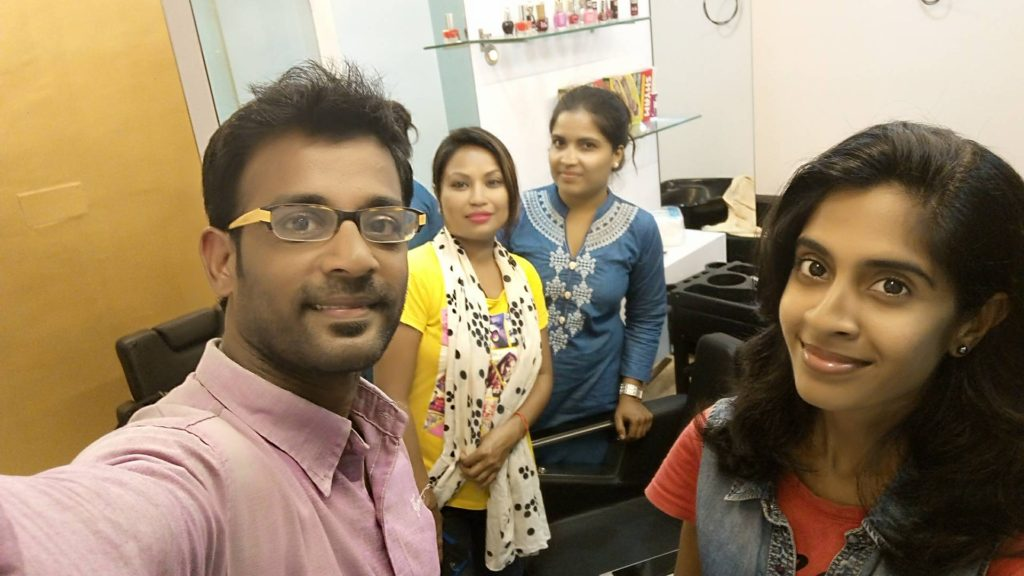 Facebook Live Video from Ruby Sharma Makeup Studio Virugambakkam Chennai
