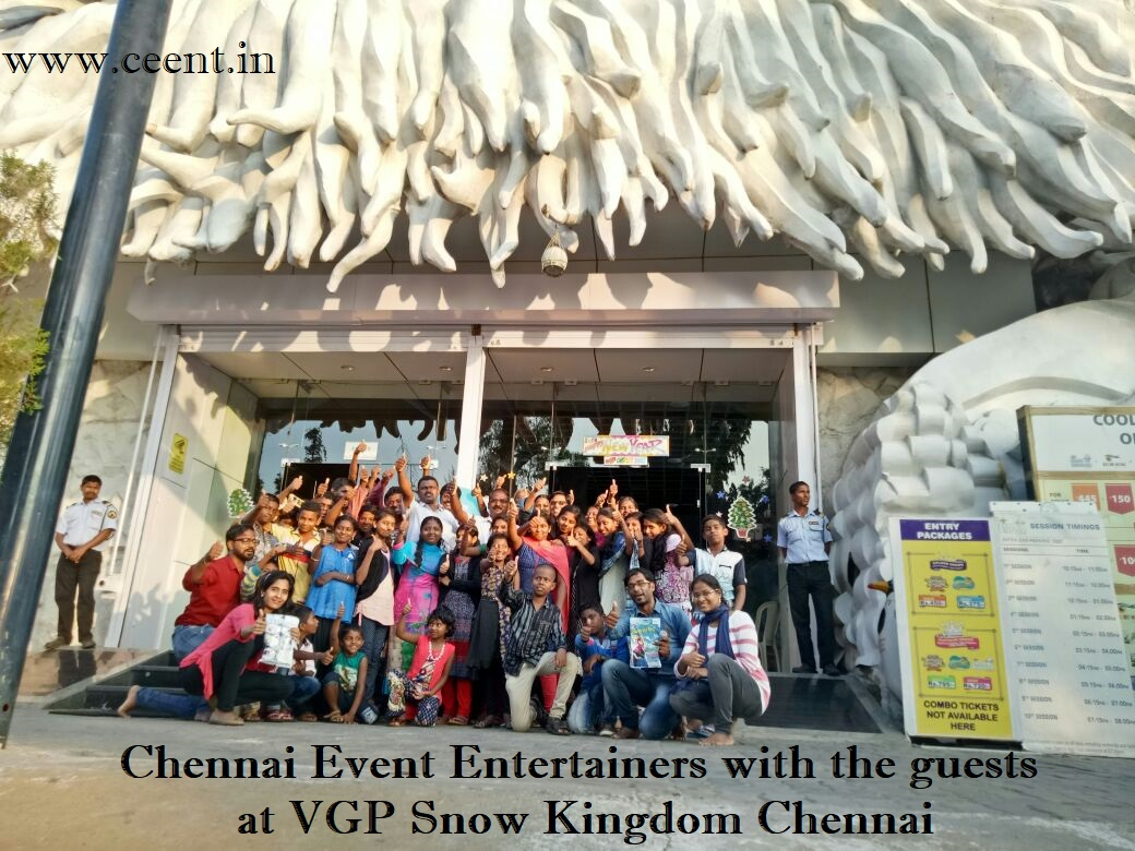 Kaanum Pongal Special Event at VGP Snow Kingdom by Chennai Event Entertainers