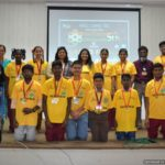 Hosted Space Kidz India Young Scientist India 2017 2018 Chennai Event Anchors