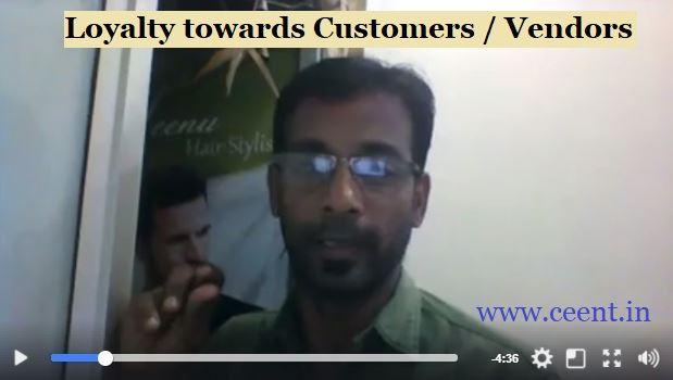Emotional Bonding and loyalty towards customers vendors and service providers Chennai Entertrainer Thamizharasan