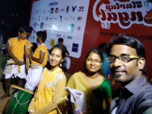 Chennai Event Emcees and Entertainers Team at Startup Pongal 2.0 Celebrations at MNM Jain College Thoraipakkam
