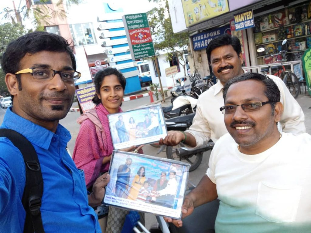 Best memento laminated photo frame from Friends Welfare Trust to Chennai Event Entertainers