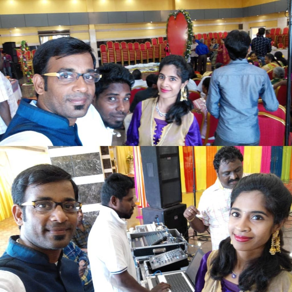 All set to host Sangeet of Telugu and Tamil Family at JMA Convention Centre Periamet