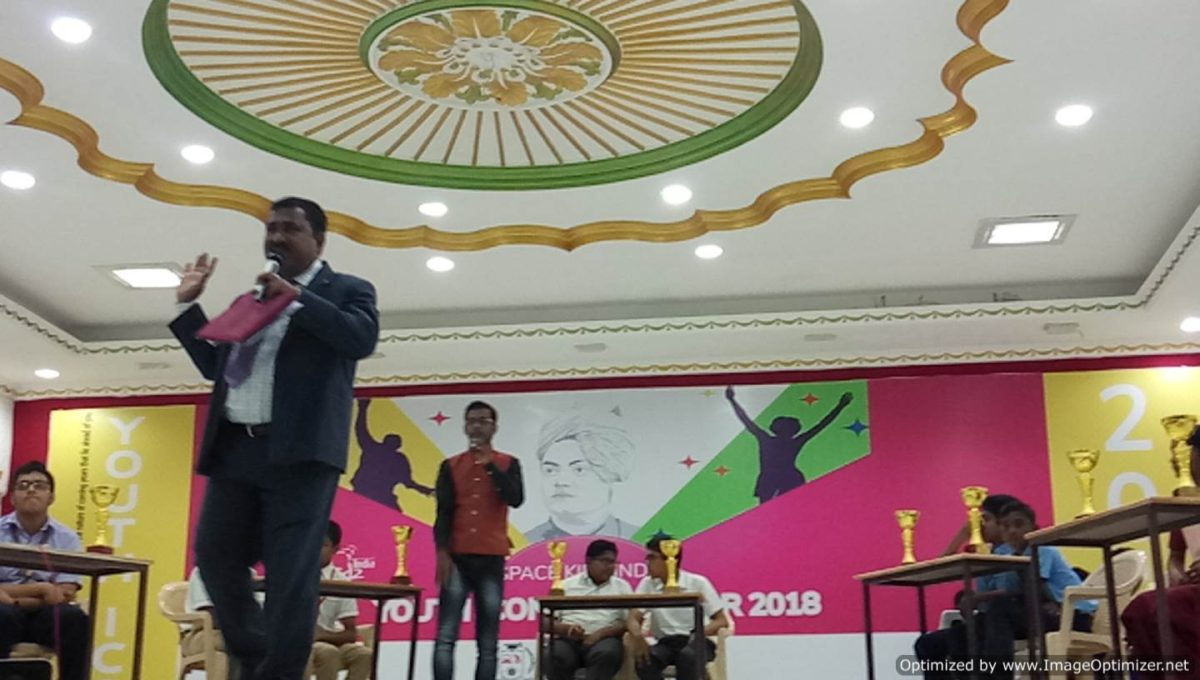 Quiz Show Space Kidz India presents Youth Icon of the Year 2018 at Sathyabama College_Facebook Live Videos of CEE