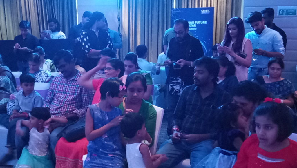 Tambola game at Corporate Family Gettogether at Hotel Raintree Annasalai Chennai Event Anchors