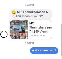 What to do if you clicked the Facebook spam message This video is yours so many views