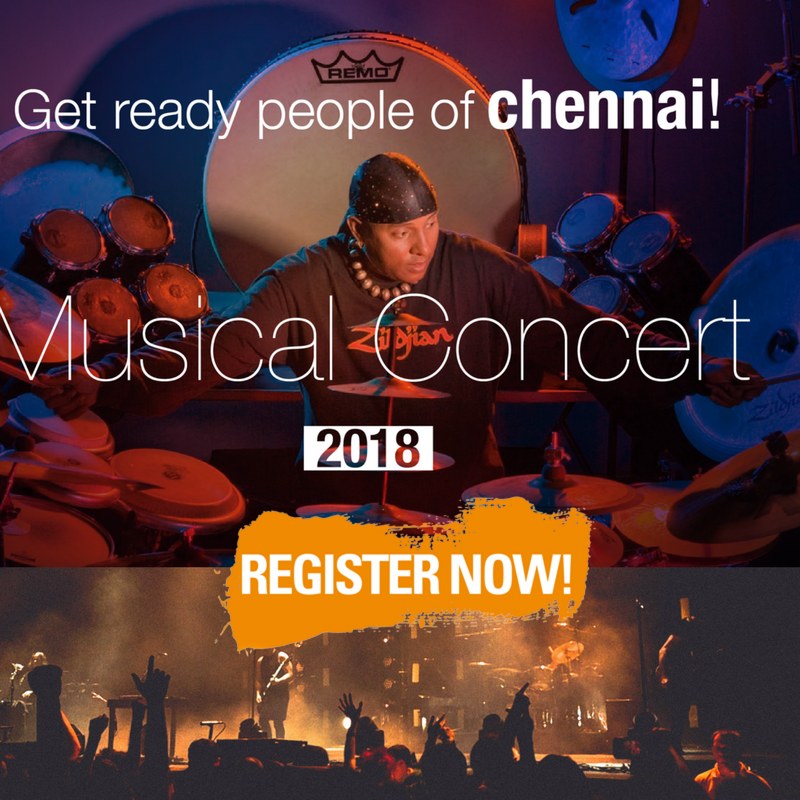 Tickets for Lets Rebuild Kanyakumari Drums Sivamani Live in Concert Fund raising for Cyclone Ockhi (okki) Victims 1