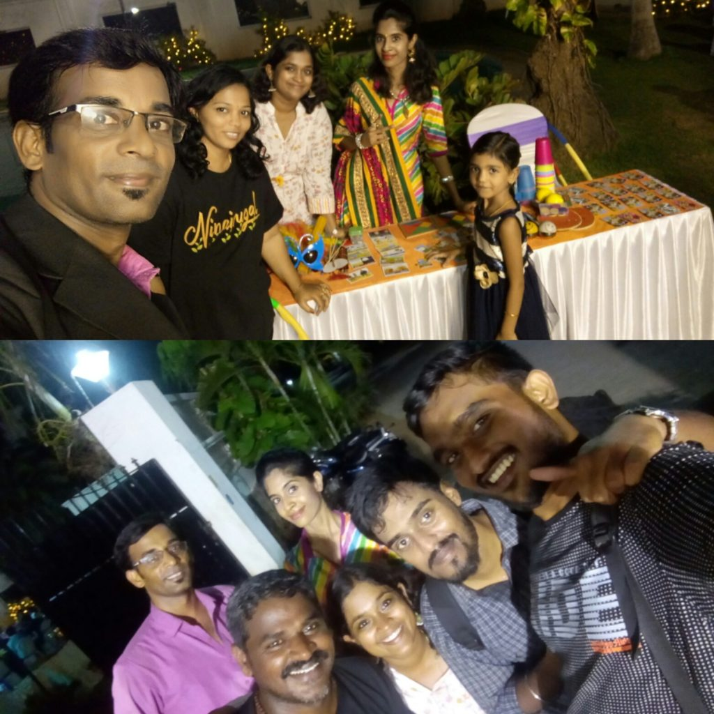 Table games at Sangeet at Sneha Gardens ECR Chennai Event Professionals