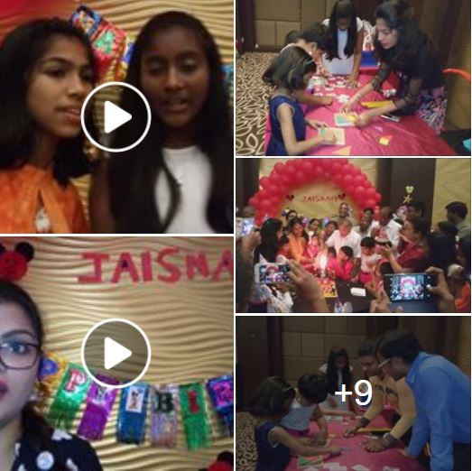 Birthday Party at Aloft Hotel Sholinganallur 02nd April 2018 Facebook Link