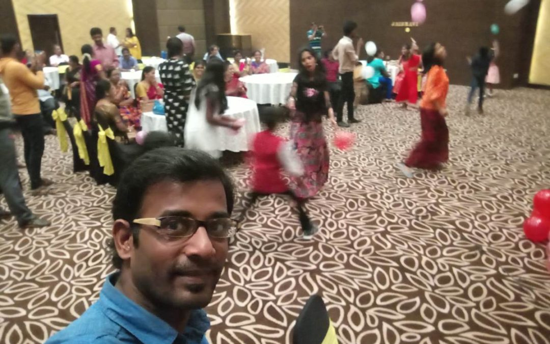 Chennai Event Emcees Team Work at a Birthday Party at Aloft Hotels
