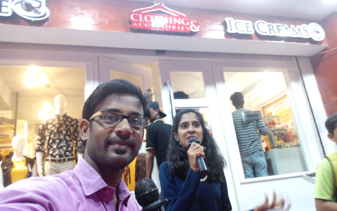 Facebook Live from Tamil New year at Cream Chemistry Launch, 5th Avenue Besant Nagar