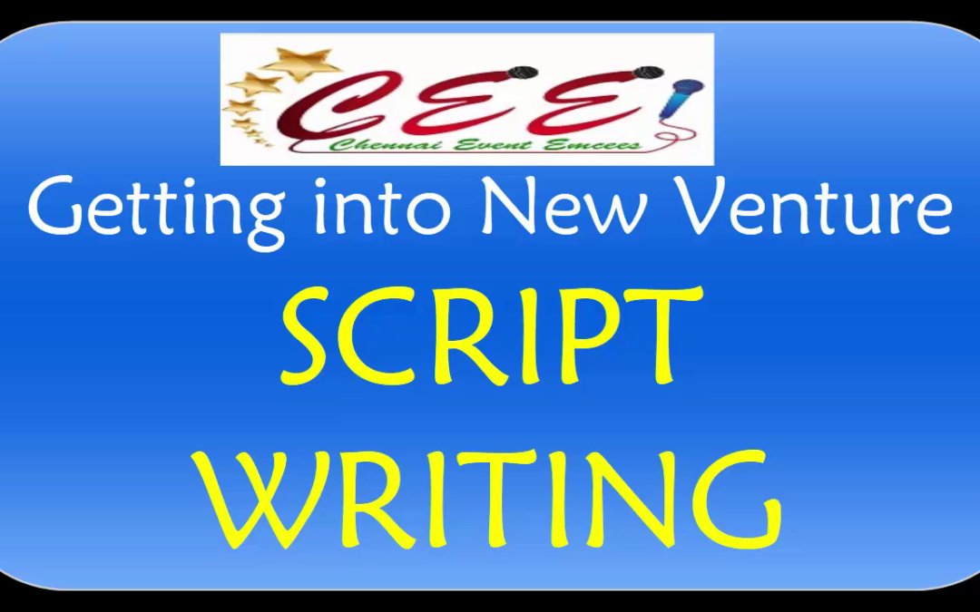 Chennai Event Emcees Script Writing for Overseas Client_Contact +919003087198
