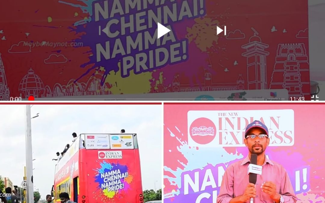 Photos and Videos: Namma Chennai Namma Pride Double decker Open bus Heritage Ride at Chennai Marina by TNIE