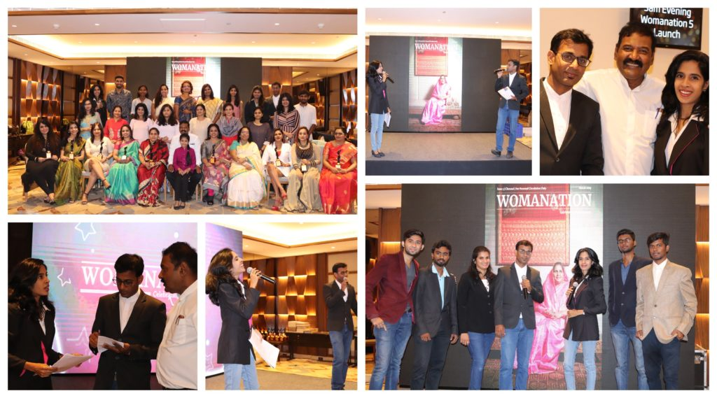 Chennai Event Emcees Team at Womanation Edition 5 Launch