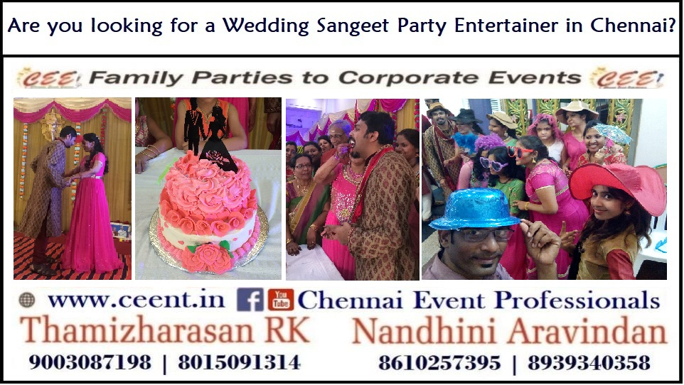 Wedding Sangeet Party Entertainers in Chennai_Contact 8610257395