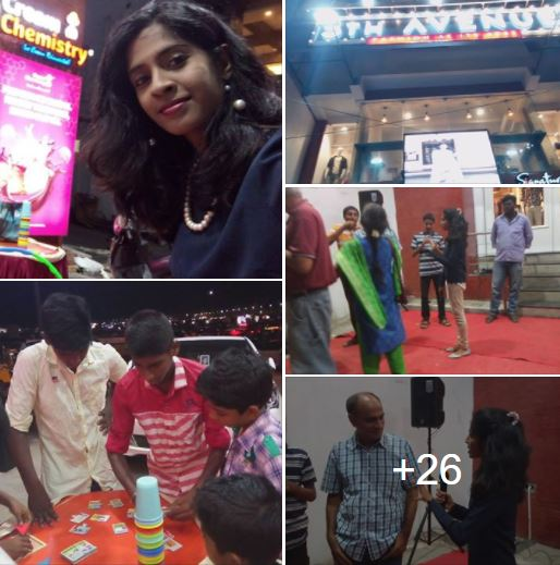 Hosted 5th Avenue Free Icecream mela for this Tamil New year at Cream Chemistry Launch, Besant Nagar
